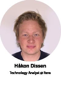 Håkon Dissen, Technology Analyst at Itera