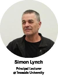 Simon Lynch, Principal Lecturer @ Teeside University
