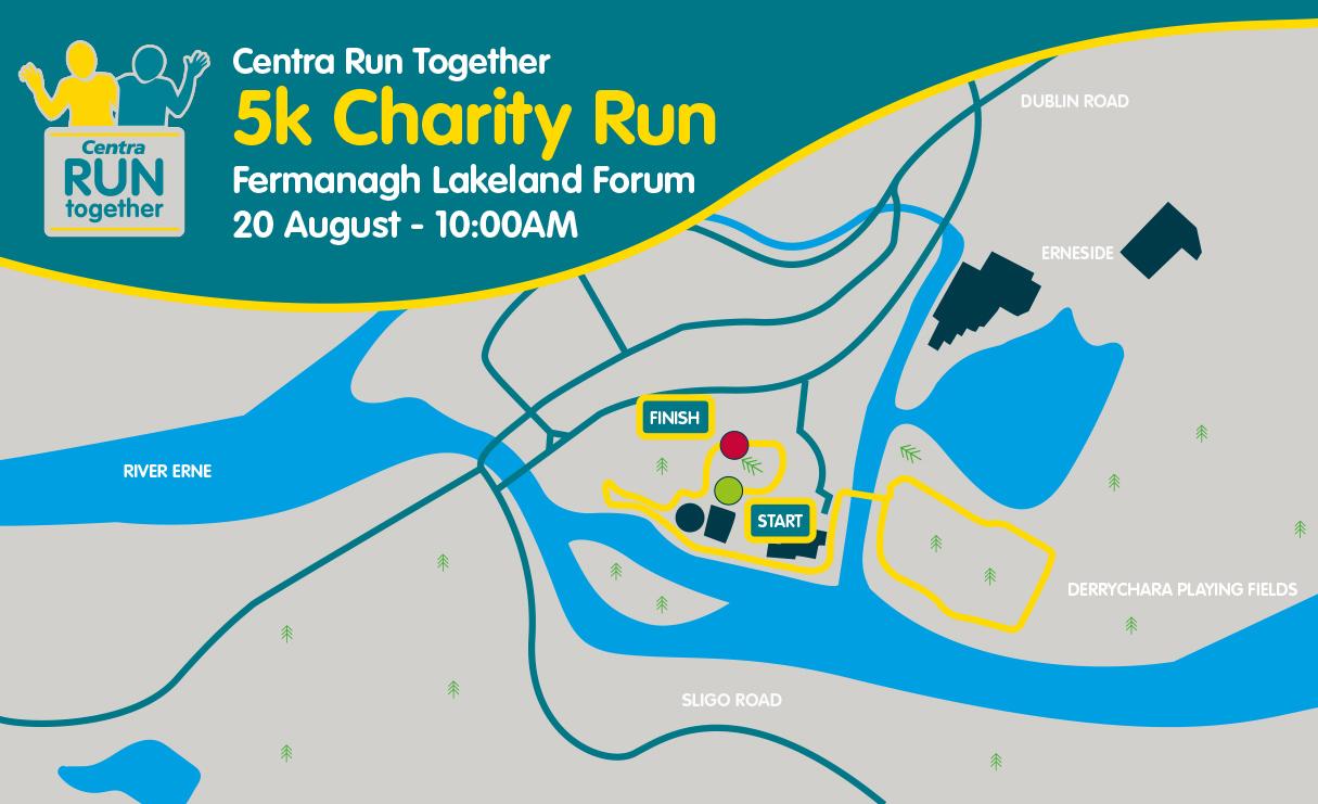 Lakeland Forum Enniskillen - Route Map