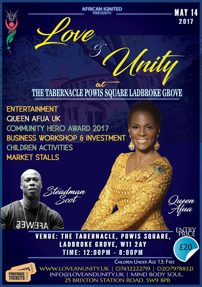Love & Unity Flyer