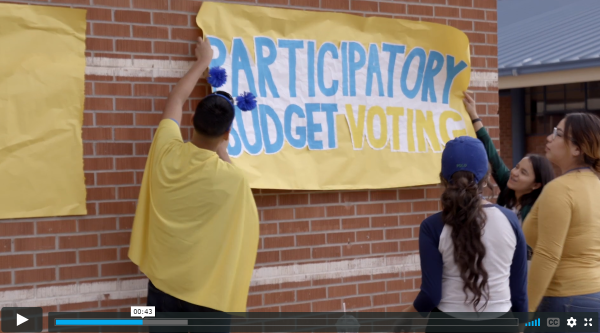 Participatory Budgeting in US schools
