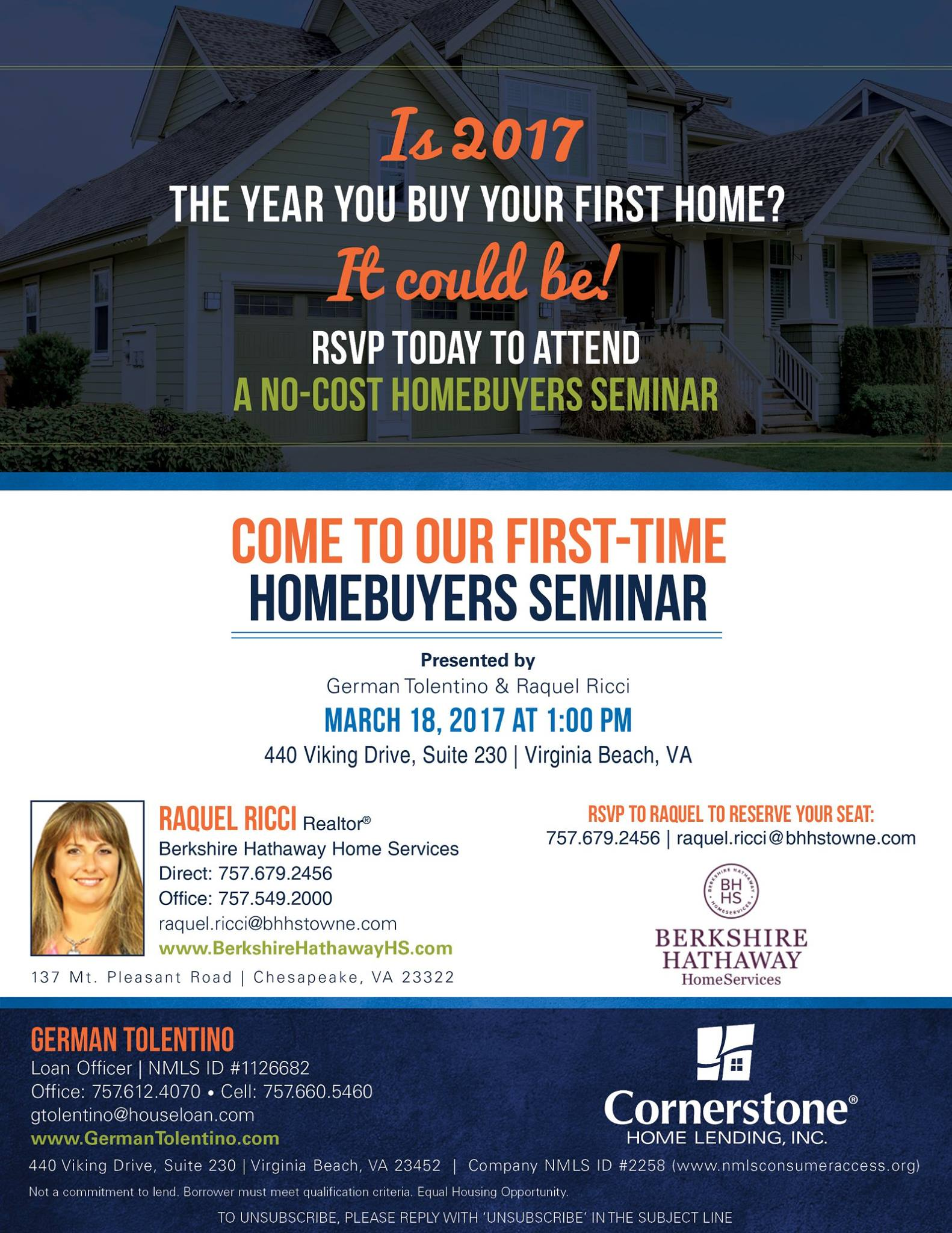 First Time Home ers Seminar Tickets Sat Mar at 1