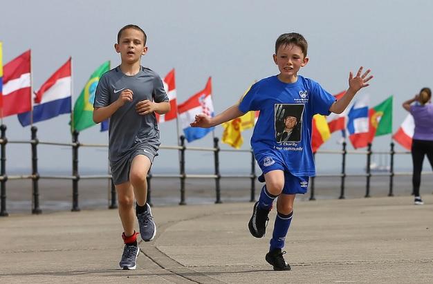 Golden Mile Finish