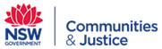 NSW Communities & Justice logo