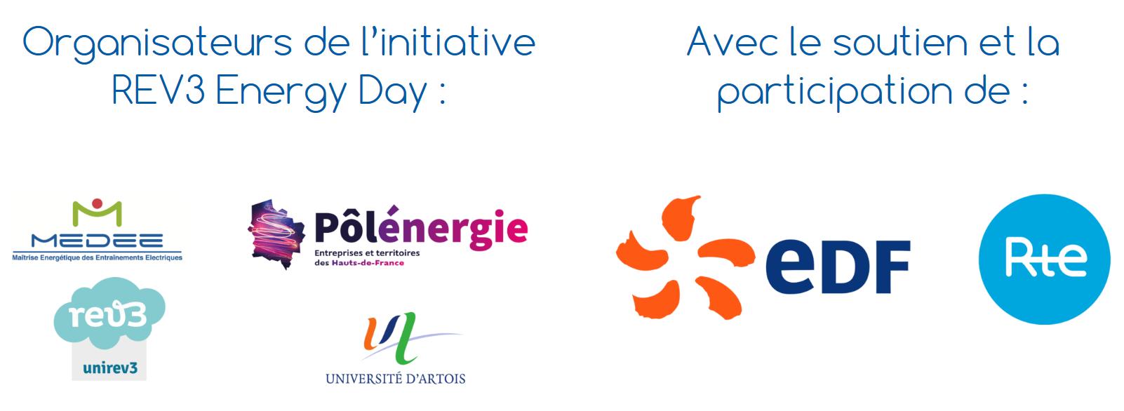 partenaires et organisateurs rev3 energy 19