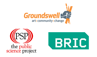 Groundswell and The Public Science Project of the CUNY Graduate Center Logo
