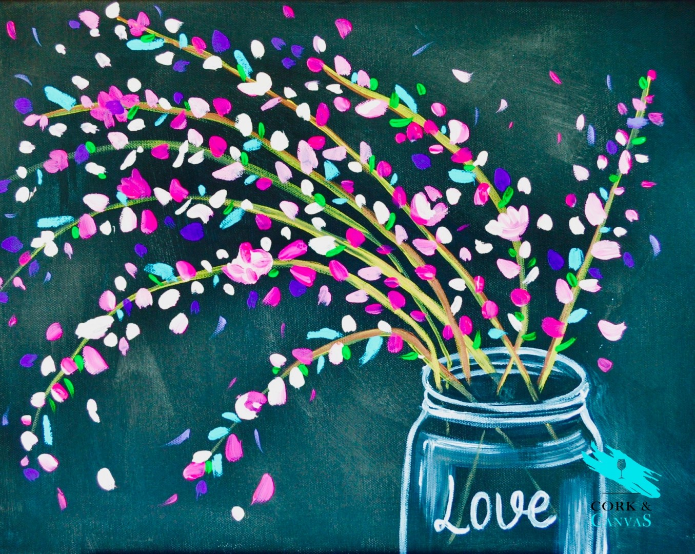 Jar of Love paint and sip