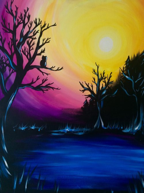 Paint and Sip sessions