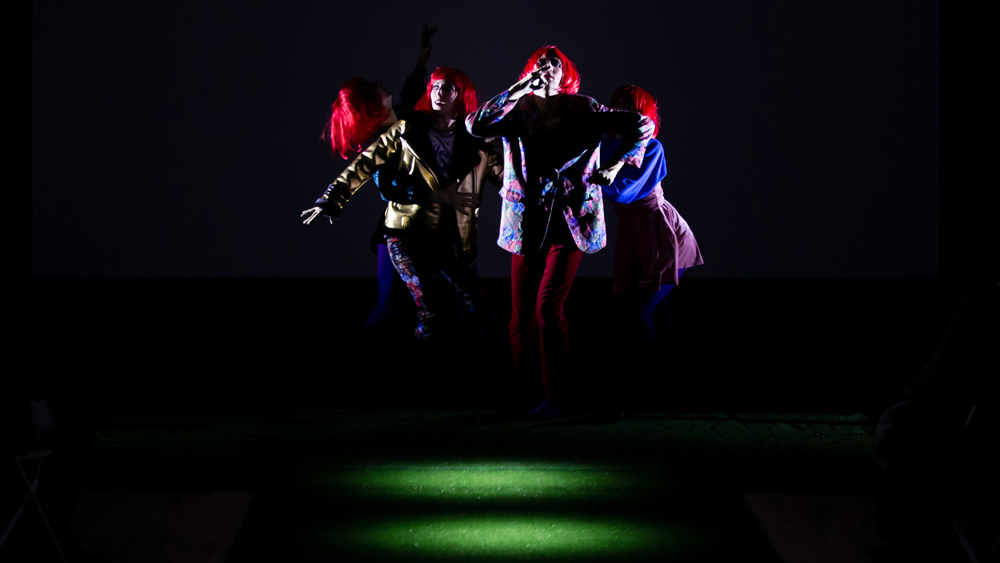 Artificial Flowers Performance Image