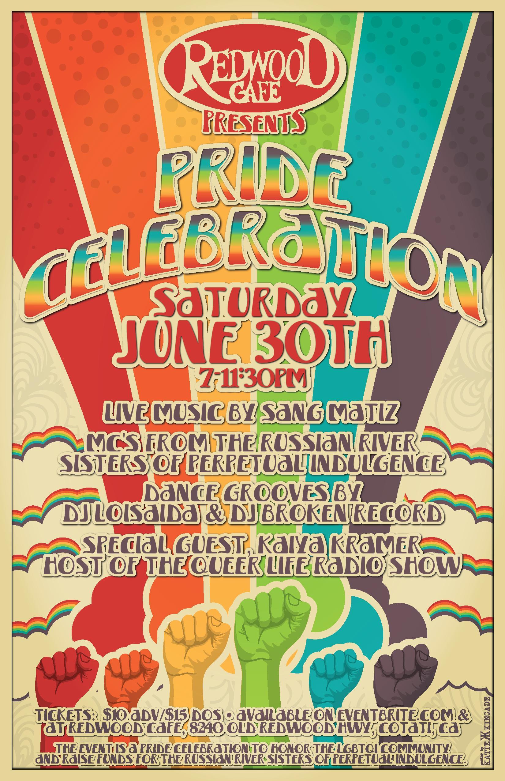 Pride Celebration poster