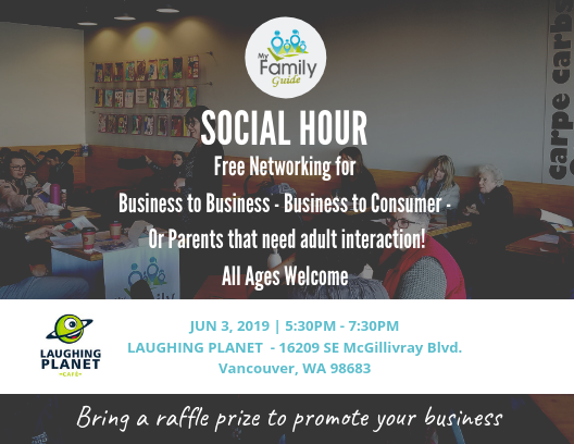 networking and social hour in vancouver available for all ages
