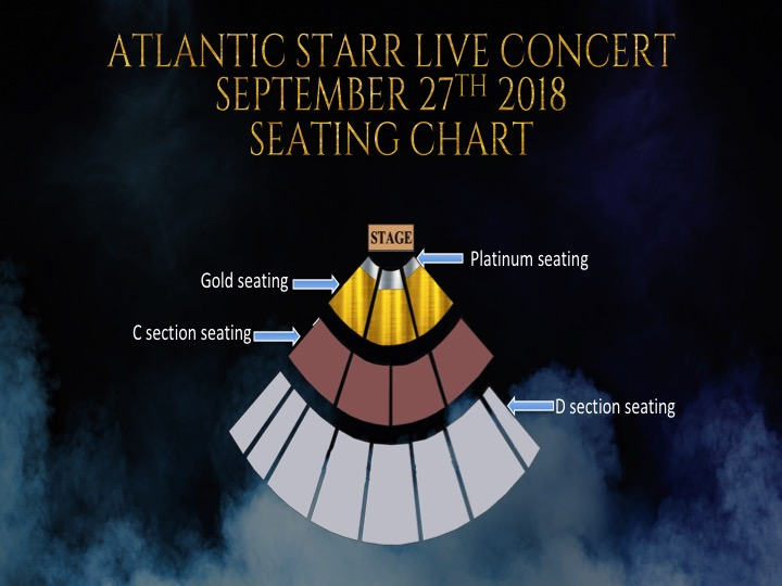 Please contact FCE for Platinum and Gold seating