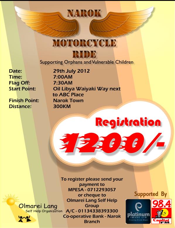 Narok Motorcycle Ride Logo