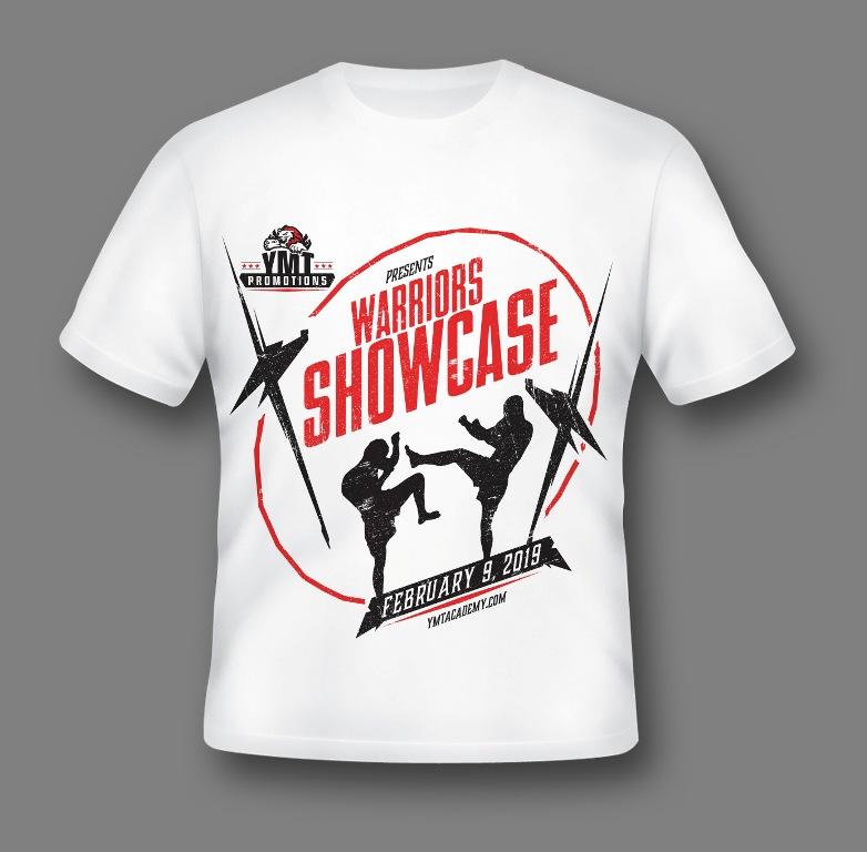 warrior showcase shirt