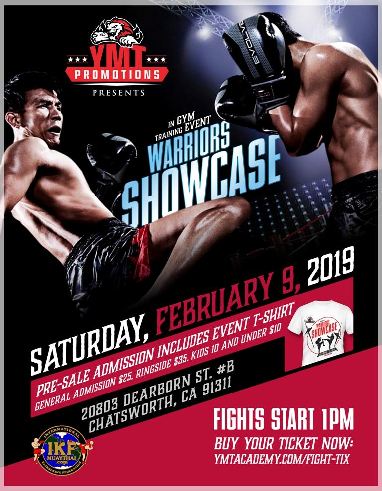 Warriors Showcase Flyer