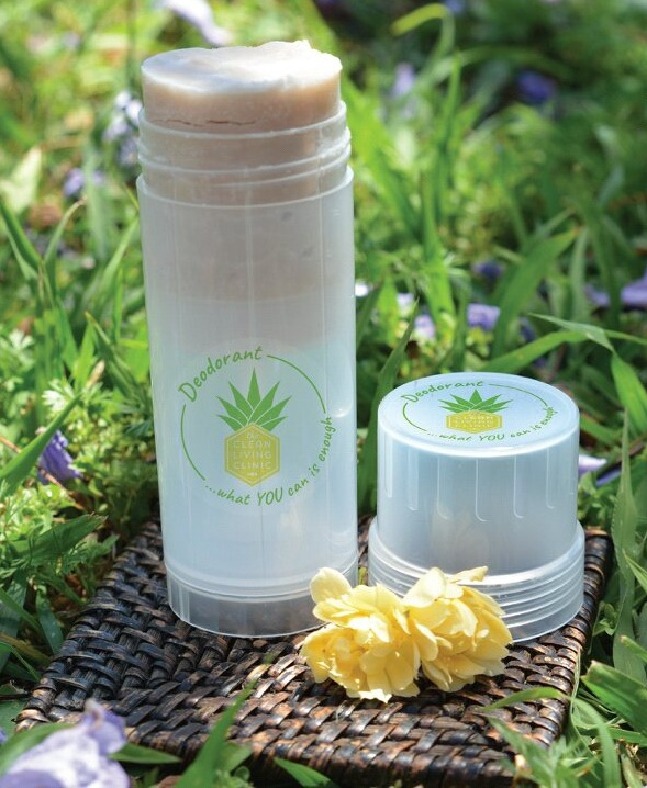 The Clean Living Clinic MYdeodorant DIY MYrecipe - Lime & Patchouli