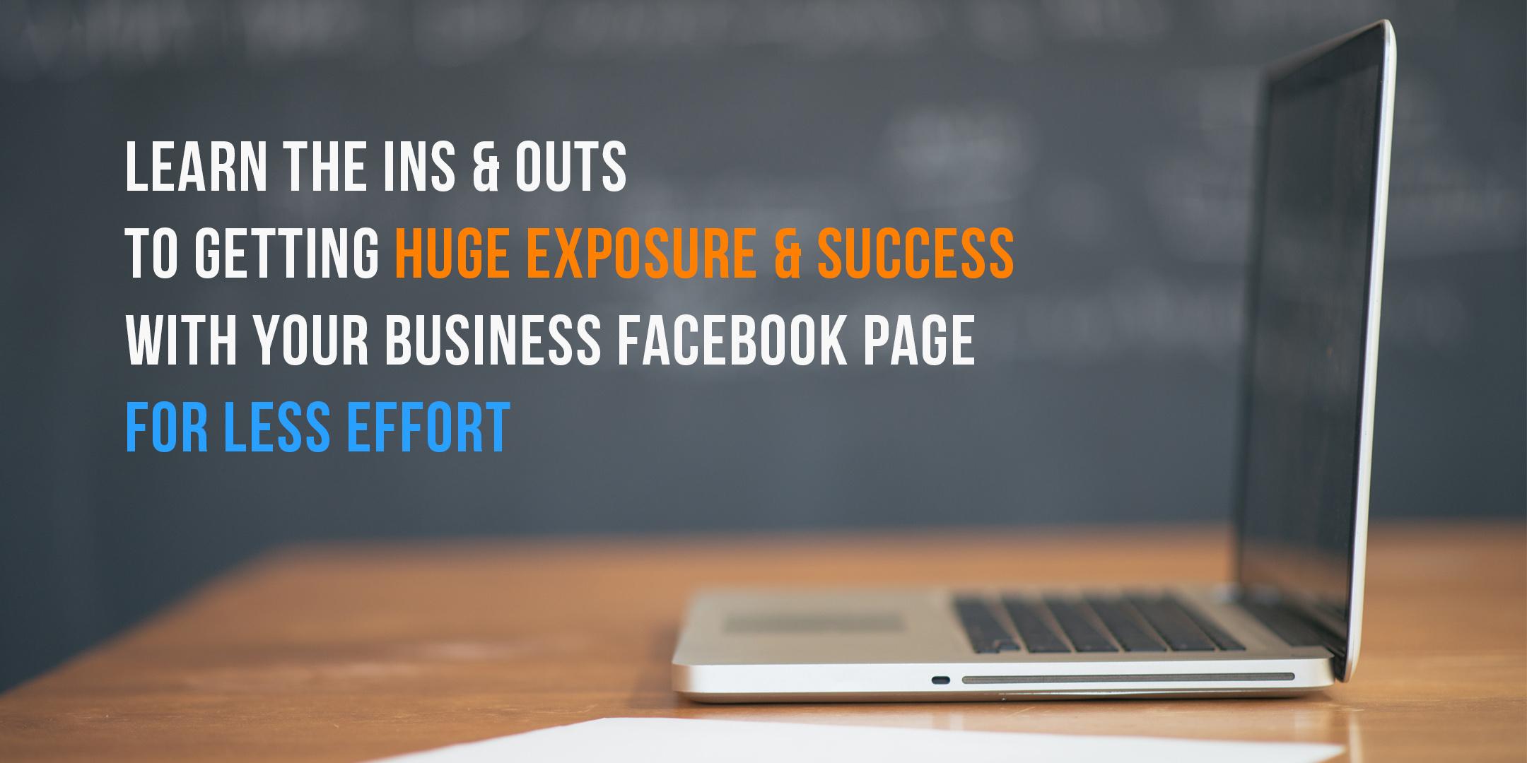 Facebook Exposure and Success
