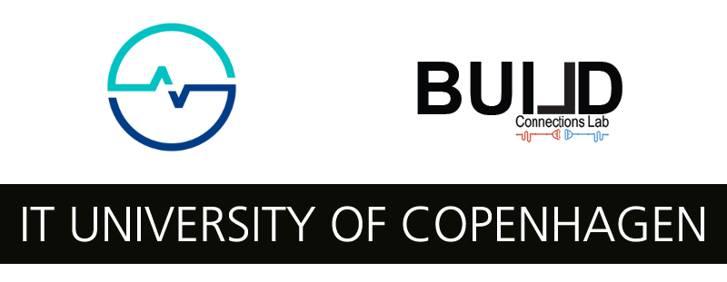 CBS Health BUILD Lab and IT University of Copenhagen logos