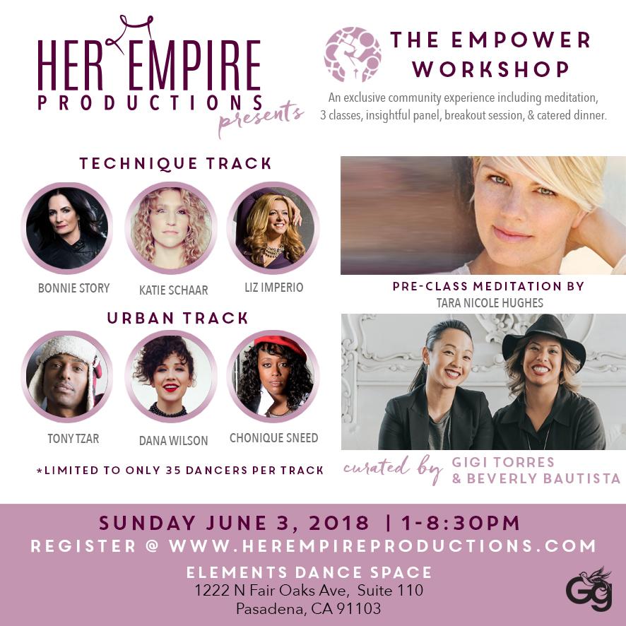 Empower Workshop Flyer