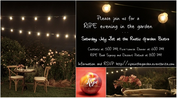 Event Flyer - RIPE in the Garden