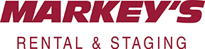 Markey's Staging and Rental logo