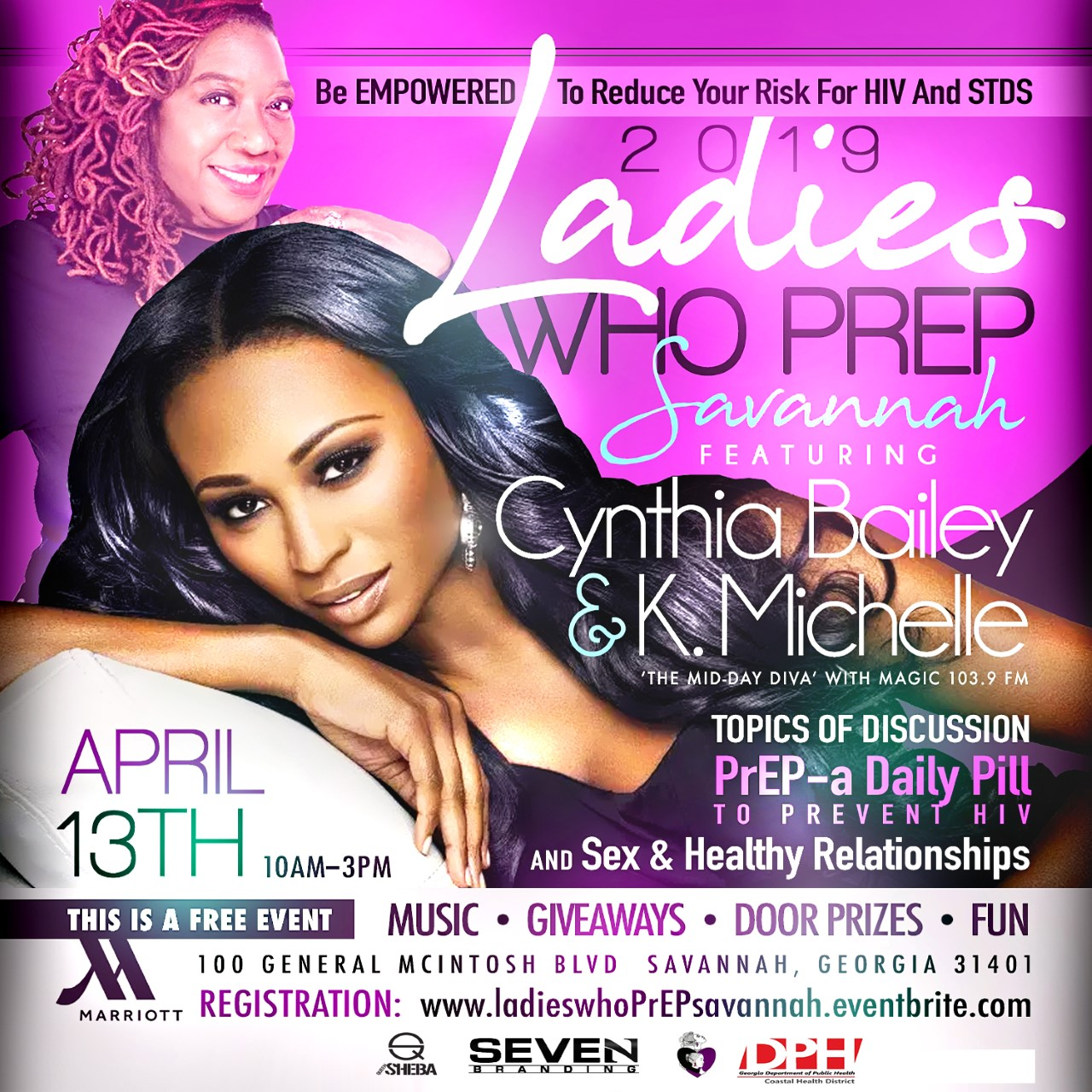 Special appearance by Cynthia Bailey