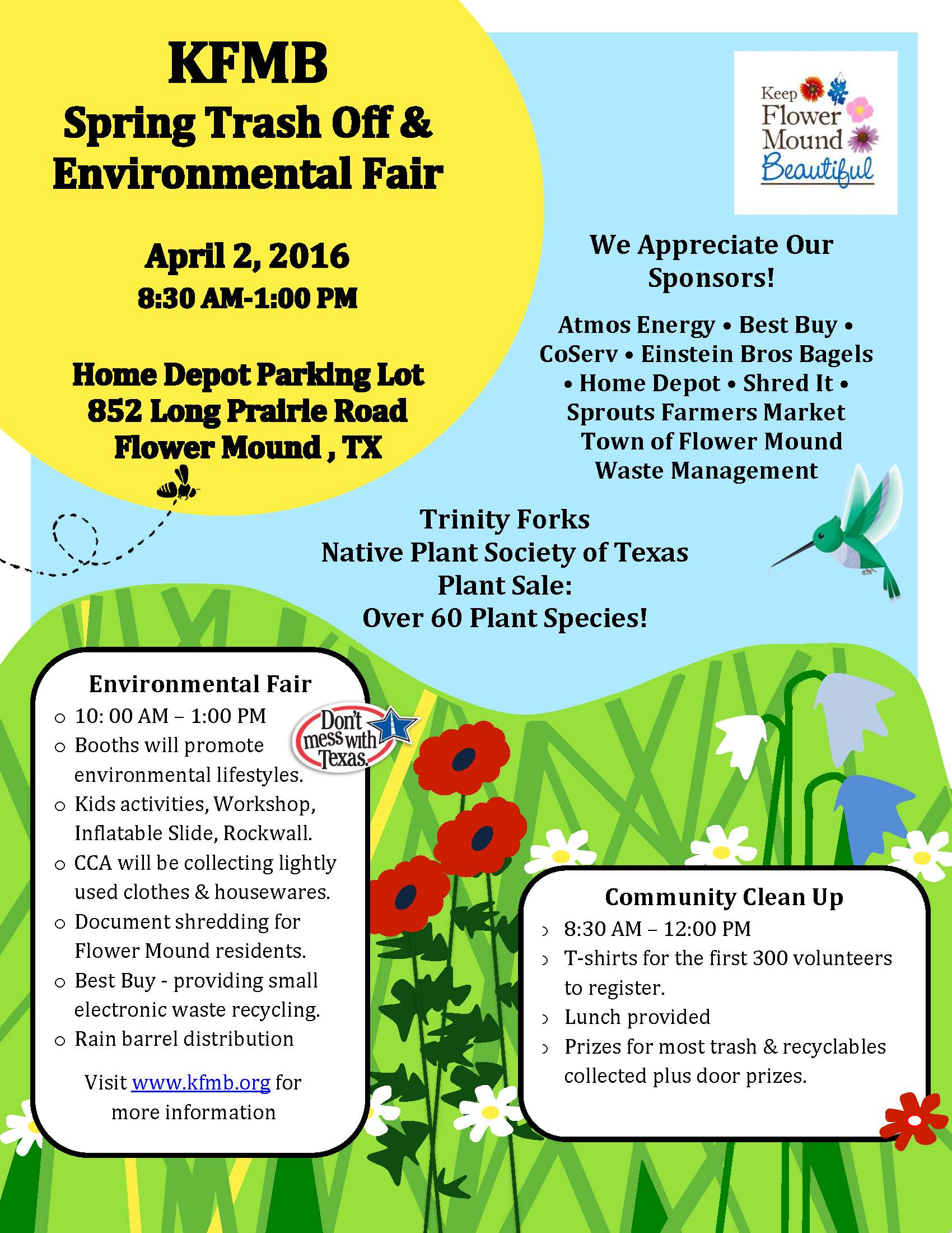 KFMB Spring Trash Off & Environmental Fair