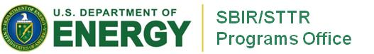 US Dept. of Energy SBIR Logo