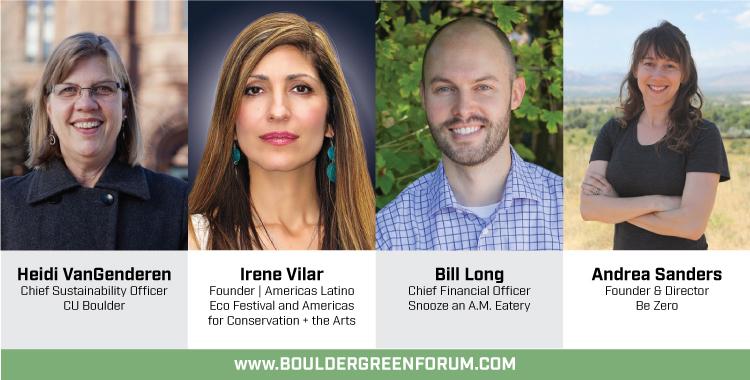 Boulder Green Forum Panelists