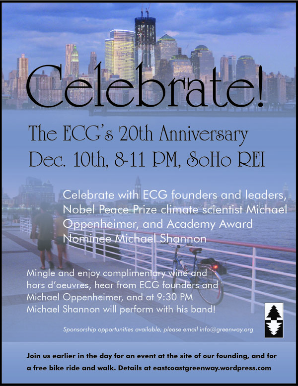 ECGA 20th Anniversary Celebration Invitation