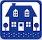 LOGO Springtime House Blue