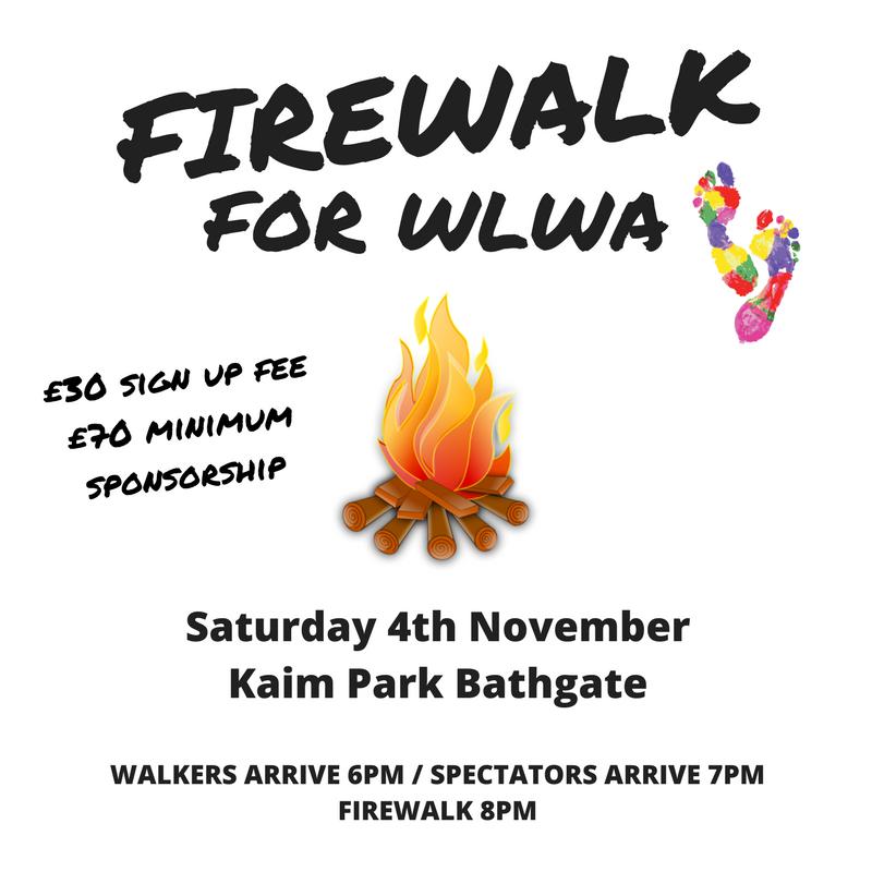 West Lothian Women's Aid Firewalk