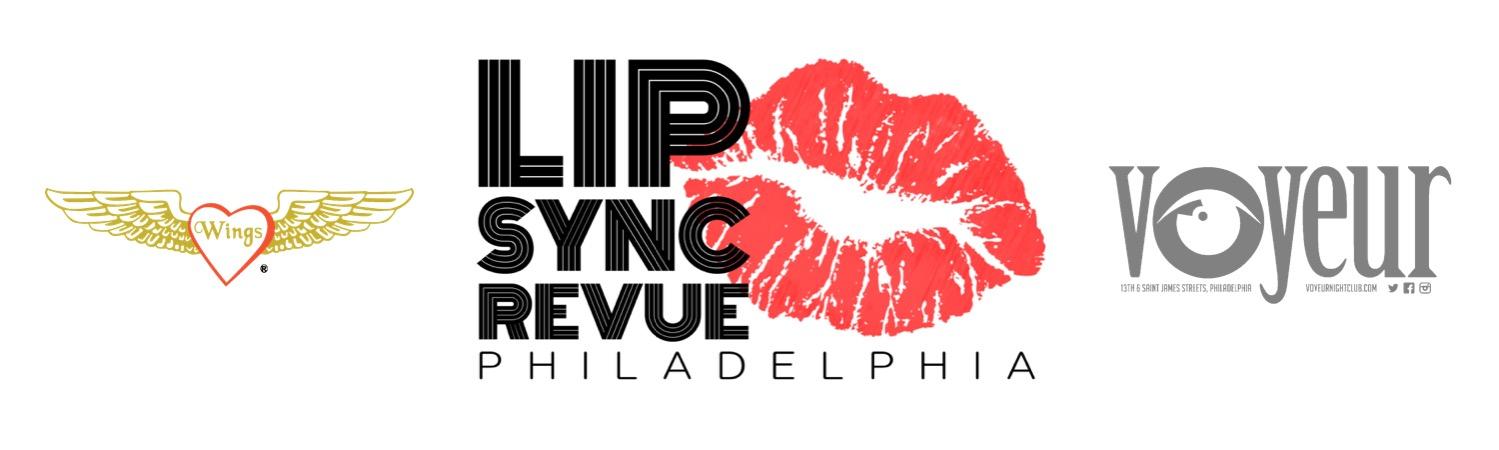 Lip Sync Revue Wings Voyeur Logos