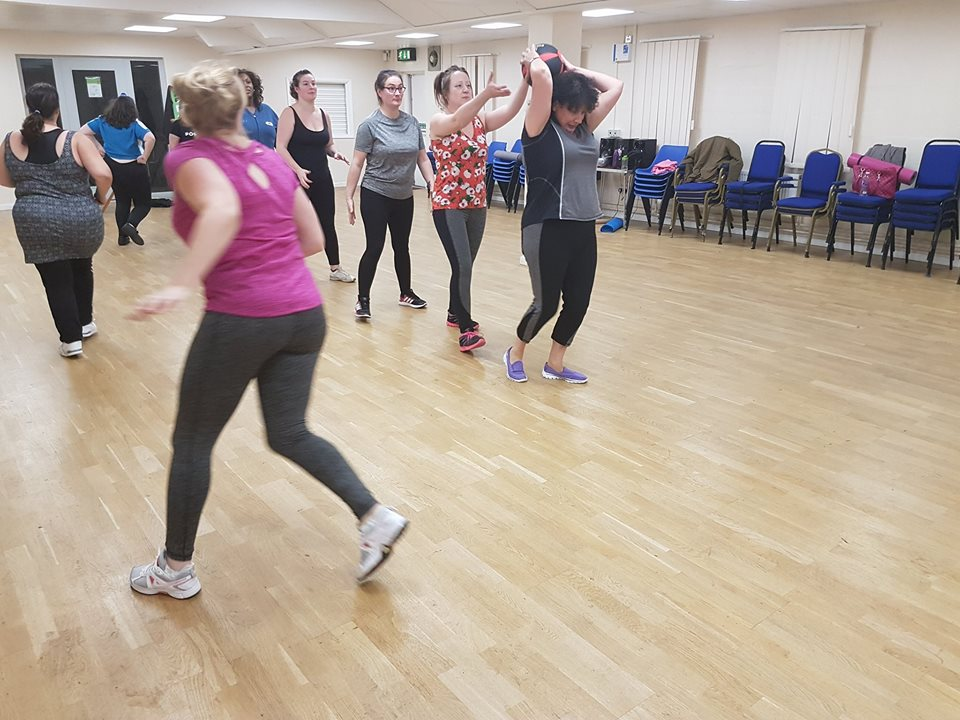 Ladies enjoying exercise in Bestwood, Nottingham