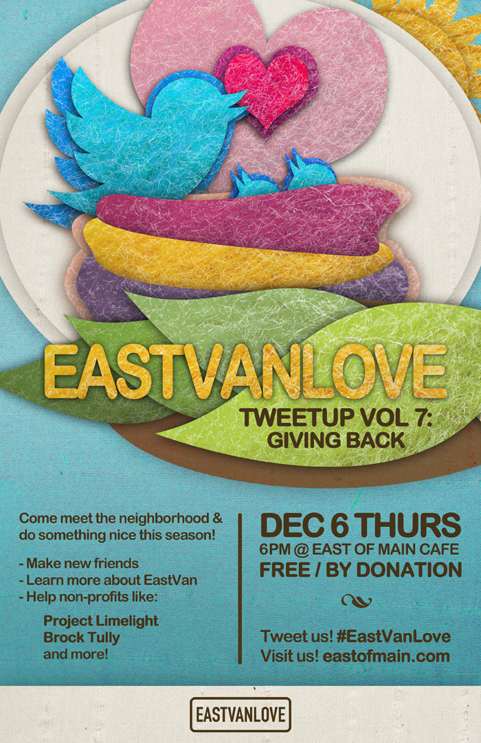 EastVanLove vol.7 Giving Back