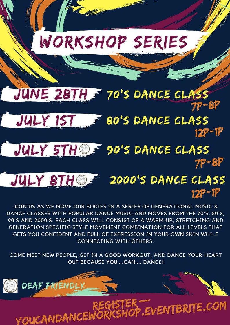 You Can Dance Class Description