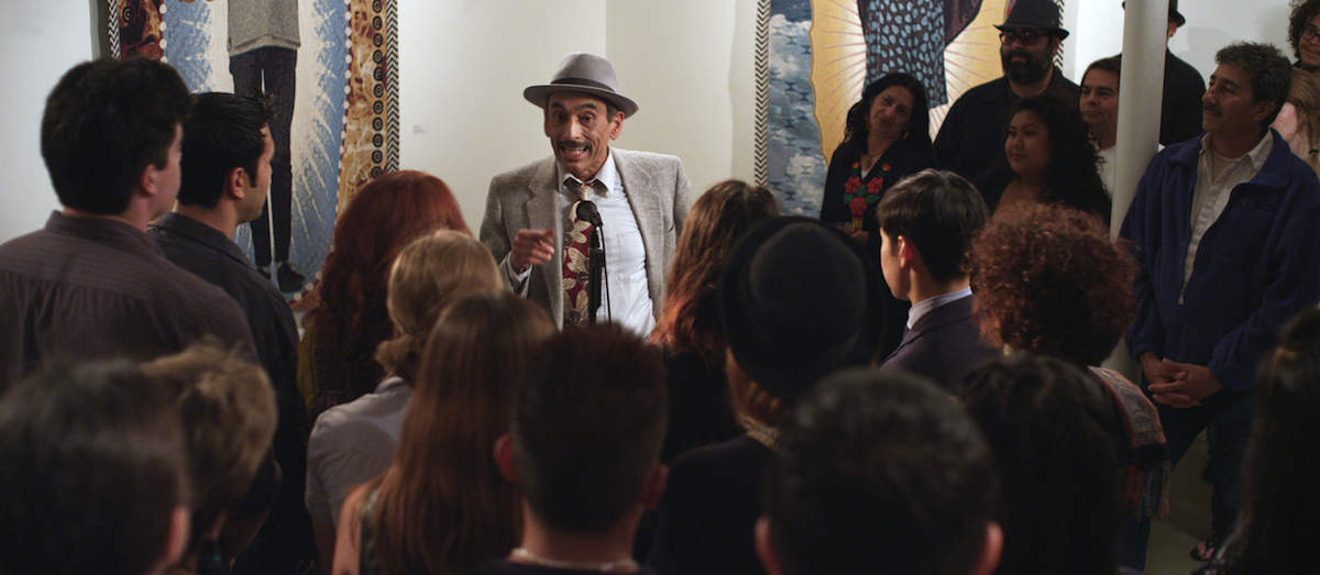 Alejandro Murguia as El Poeta in The Other Barrio.