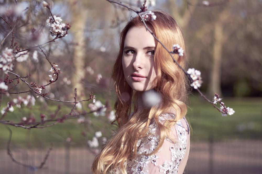 portrait spring minisession photoshoot