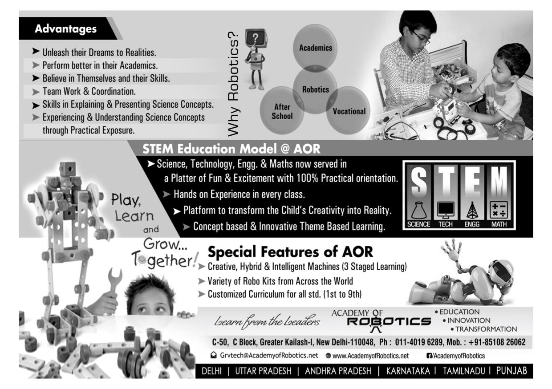 aor summer camp robotics delhi