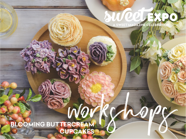 Sweet Expo Sydney 2019 - Blooming Buttercream Cupcakes