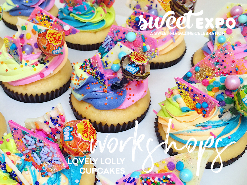 Sweet Expo Sydney 2019 Workshops Lovely Lolly Cupcakes