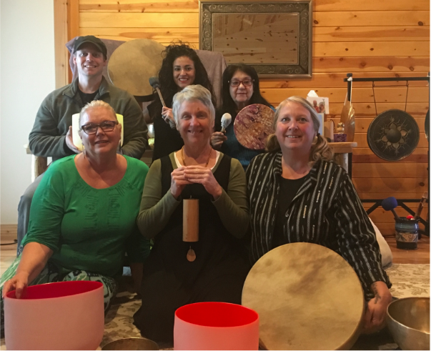 group of graduates Idaho Sound Healing