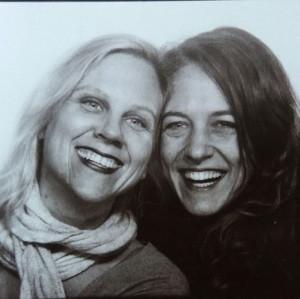 Britta und Iva Handarbeitsabend Berlin