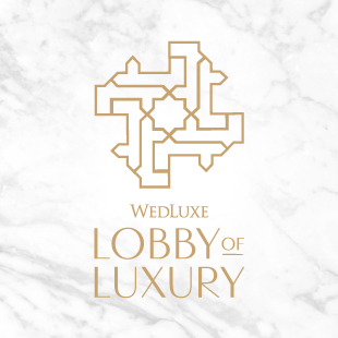 The WedLuxe Wedding Show Lobby of Luxury