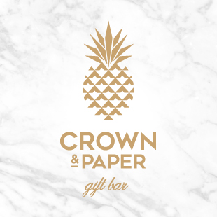 The WedLuxe Show Crown and Paper
