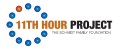11th Hour Project, a program of the Schmidt Family Foundation logo