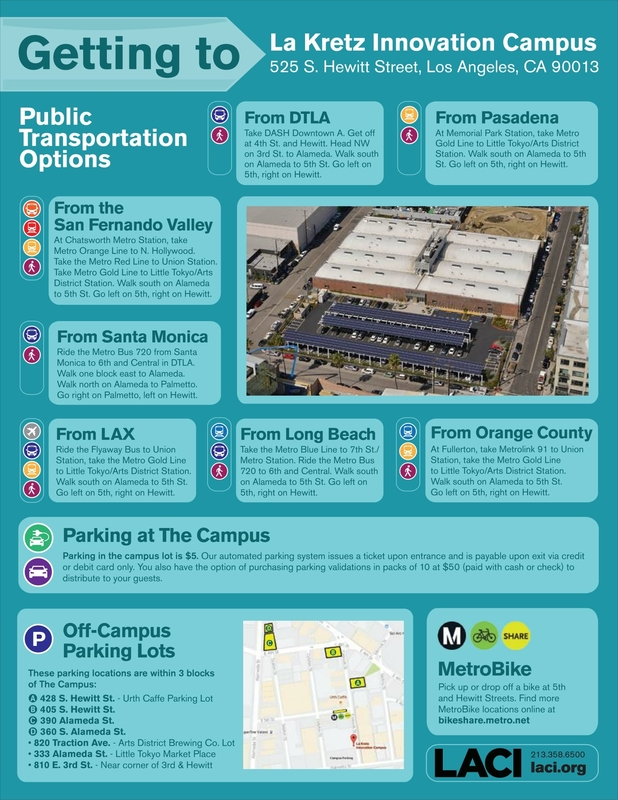 LACI Transportation Information