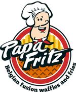 Papa Fritz Belgian Food Truck Logo