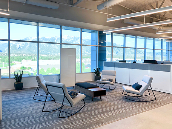 Plenty of meetings rooms and collaboration spaces