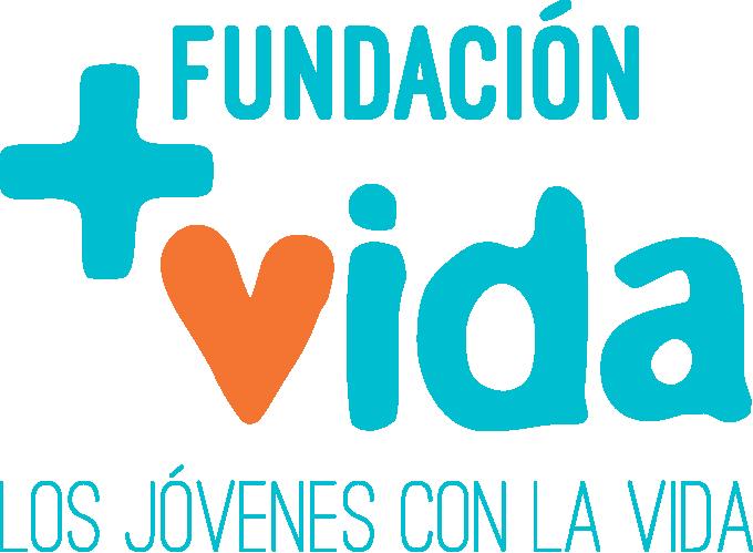 Logotipo de la Fundación +Vida